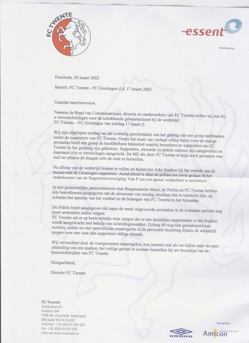 voorbeeldbrief in beroep gaan Supportersvereniging Vak P voorbeeldbrief in beroep gaan