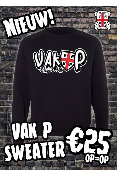 Sweater VAK P Zwart